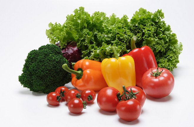 健康食生活のために野菜を食べよう