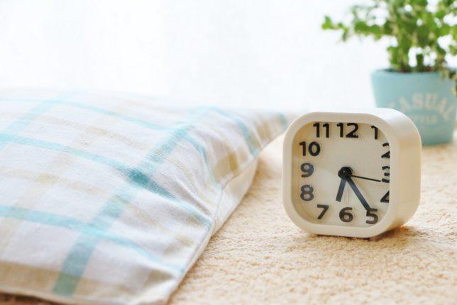 朝気持ちよく目覚めるためにできること