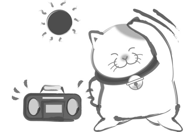 暑い時期の運動
